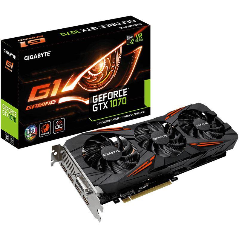 gigabyte gtx 1070 gaming x 8g