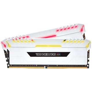 16GB Corsair Vengeance RGB weiß DDR4-3000 DIMM CL15 Dual Kit