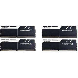 64GB G.Skill Trident Z schwarz/weiß DDR4-3600 DIMM CL17 Quad Kit